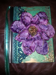 Altered Journal teal and purple