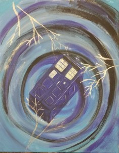 Open Paint - Dr. Who 11/18