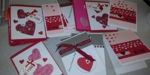 Gentiva Hospice Valentine Craft Day